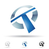 Abstract icon for letter T Royalty Free Stock Images