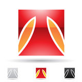 Abstract icon for letter T Royalty Free Stock Image