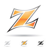 Abstract icon for letter Z Royalty Free Stock Image