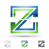 Abstract icon for letter Z Royalty Free Stock Images