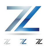 Abstract icon for letter Z Stock Image