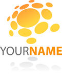 Abstract icon and logo Stock Photos