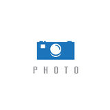 Abstract icon vector design template of photo Stock Photo