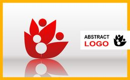 Abstract icon. Vector logo. Stock Images