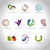 Abstract icon. Abstract web Icon and logo sample, vector illusration Royalty Free Stock Image