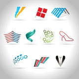 Abstract icon Stock Image