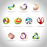Abstract icon. Abstract web Icon and logo sample, vector illusration Stock Photo