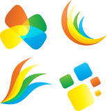 Abstract icons Stock Image