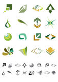 Abstract icons - Pack 2 Royalty Free Stock Photography