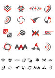 Abstract icons - Pack 3 Stock Photos