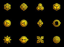 Abstract icons set Stock Images