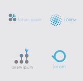 Abstract icons set  Stock Image