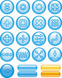 Abstract Icons Set (Vector) Stock Photos