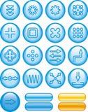 Abstract Icons Set (Vector) Stock Photos