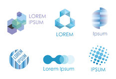Abstract icons set   Stock Photos