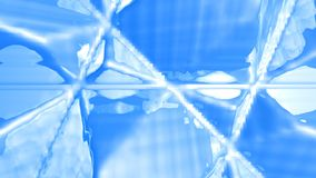 Abstract Icy Background Stock Photo