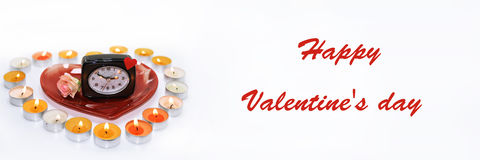 Abstract idea of Valentine day. Royalty Free Stock Photo