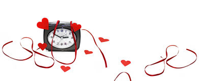 Abstract idea of Valentine day. Royalty Free Stock Images