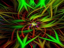 Abstract idea wallpaper and background stock illustration