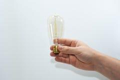 Abstract idee van elektrische lamp 35W Stock Foto