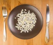 Abstract idee van technologie als voedsel Royalty-vrije Stock Afbeelding