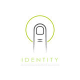 Abstract identity vector logo Stock Image
