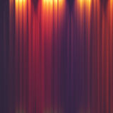 Abstract illuminated striped background Stock Photography