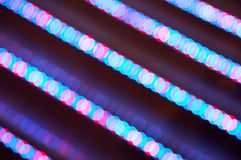 Abstract illumination lights lines Royalty Free Stock Photography