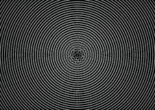 Abstract Illusion Circle Line Black Background Texture Pattern Royalty Free Stock Image