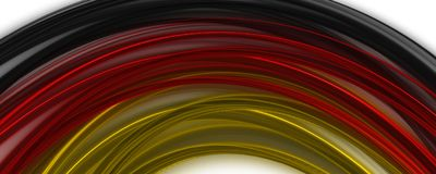 Abstract illustrated german color panorama design for sport even. Ts Royalty Free Stock Photography