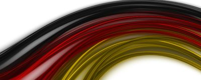 Abstract illustrated german color panorama design for sport even. Ts Royalty Free Stock Image