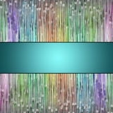 Abstract illustrated glass background pattern Royalty Free Stock Image
