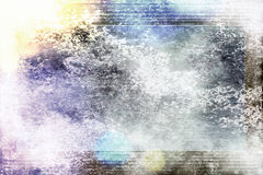 Abstract illustrated grunge background Royalty Free Stock Image