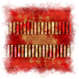 Abstract illustrated grunge background pattern Stock Image