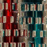 Abstract illustrated wonderful glass background Royalty Free Stock Photography