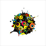 Abstract Illustration. Royalty Free Stock Photography