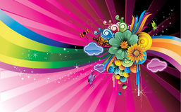Abstract  illustration Royalty Free Stock Images