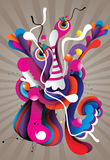 Abstract illustration Stock Image