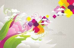 Abstract  illustration Royalty Free Stock Photos