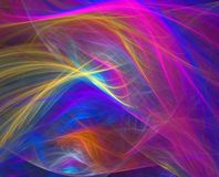 Abstract Illustration. Bright abstract illustration of smooth flowing colors Royalty Free Stock Image
