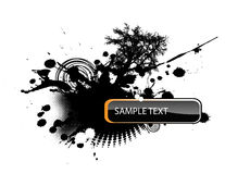 Abstract illustration Royalty Free Stock Image