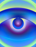 Abstract Illustration - Allegoric Blurry Eye 1 Royalty Free Stock Photography