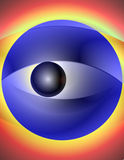 Abstract Illustration - Allegoric Blurry Eye 2 Royalty Free Stock Photos