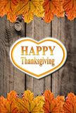Autumn Happy Thanksgiving Background Stock Images