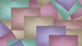 Collage of rectangles. Vector for Web design.  Royalty Free Stock Images