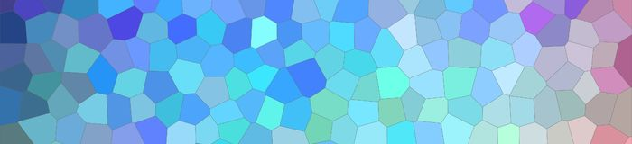 Abstract illustration of blue green white and red bright Little hexagon banner background, digitally generated. Abstract illustration of blue green white and stock illustration