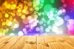 Abstract illustration bokeh light on background Royalty Free Stock Photos