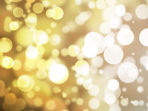 Abstract illustration bokeh light royalty free stock photography