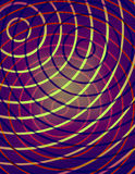 Abstract Illustration - Bright Circles Royalty Free Stock Photo