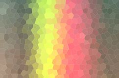 Abstract illustration of brown, yellow and red pastel little hexagon background. Abstract illustration of brown, yellow and red pastel little hexagon background stock illustration